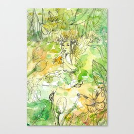 Summer Tunes Canvas Print