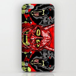 THEY NEVER DIE iPhone Skin
