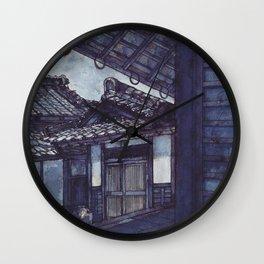 Pearls of Kyoto #2 Wall Clock