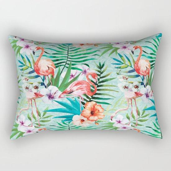 Tropical Summer #8 Rectangular Pillow