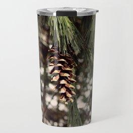The Last Pine Cone Travel Mug