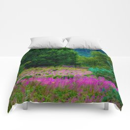 Scottish Heather Comforters