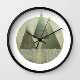 THREETREE Wall Clock