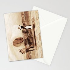 Old West Cowboy Cat and his Gal Stationery Cards