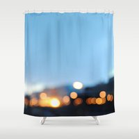 stockholm Shower Curtains featuring Stockholm by _Moementum