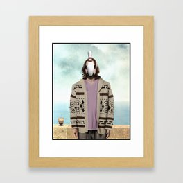 Son of Dude Framed Art Print