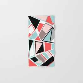 Abstract #534 Facets Hand & Bath Towel