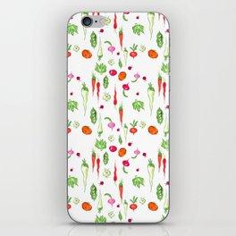 Veggie Party Pattern iPhone Skin