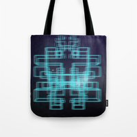 80s Tote Bags featuring 80s style by Six Pixel Design