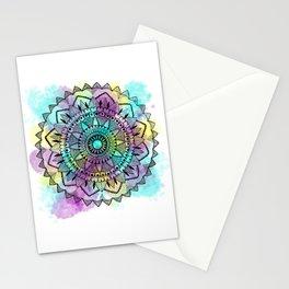 Colourwash Mandala Stationery Cards
