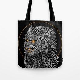 Barbarian Lion Tote Bag