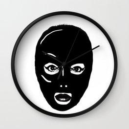 Black Hood Wall Clock
