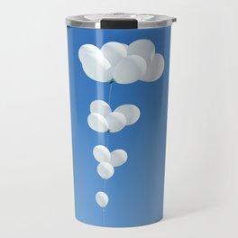 Saudade (White balloons) Travel Mug