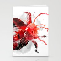 goldfish Stationery Cards featuring Goldfish by Robert Farkas