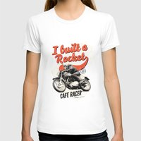 cafe racer T-shirts featuring Cafe Racer by Liviu Antonescu