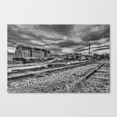 Old Forgotten Train Canvas Print