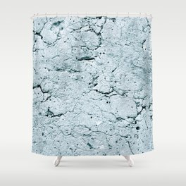 Old Stone Wall - textured IV Shower Curtain