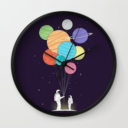 Space Gift Wall Clock