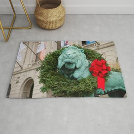 Chicago for Holidays Rug