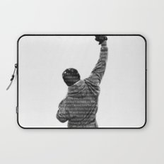 How Hard You Get Hit - Rocky Balboa Laptop Sleeve