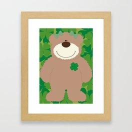 WE♥BEARS Framed Art Print