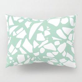 Terrazzo Mint Pillow Sham