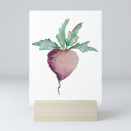 Beetroot of the Day Mini Art Print