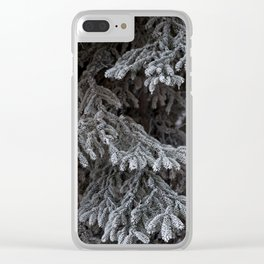 Frosted Tips Clear iPhone Case