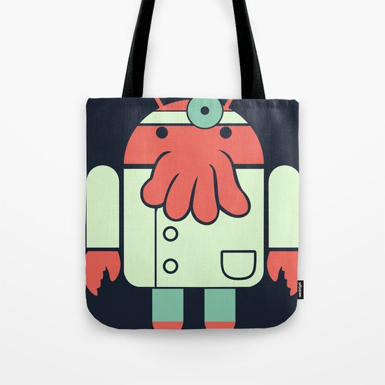 Why not Droidberg Tote Bag