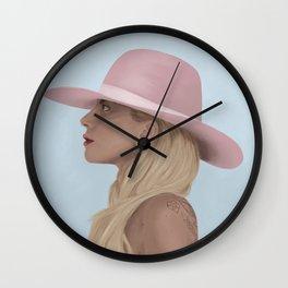 Diamond Heart Wall Clock
