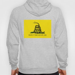Gadsden Don't Tread On Me Flag - Authentic version Hoody