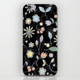 Chalkboard Scatter iPhone Skin