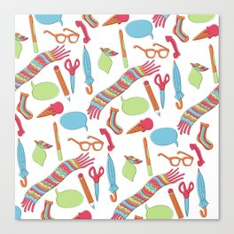 Quirky Pattern Canvas Print