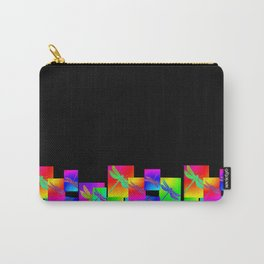 Rainbow Patterns Carry-All Pouch