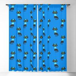 Fitz - Sailor cat Blackout Curtain