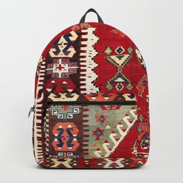 Konya Central Anatolian Niche Kilim Print Backpack