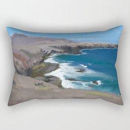 Lanzarote Landscape Rectangular Pillow