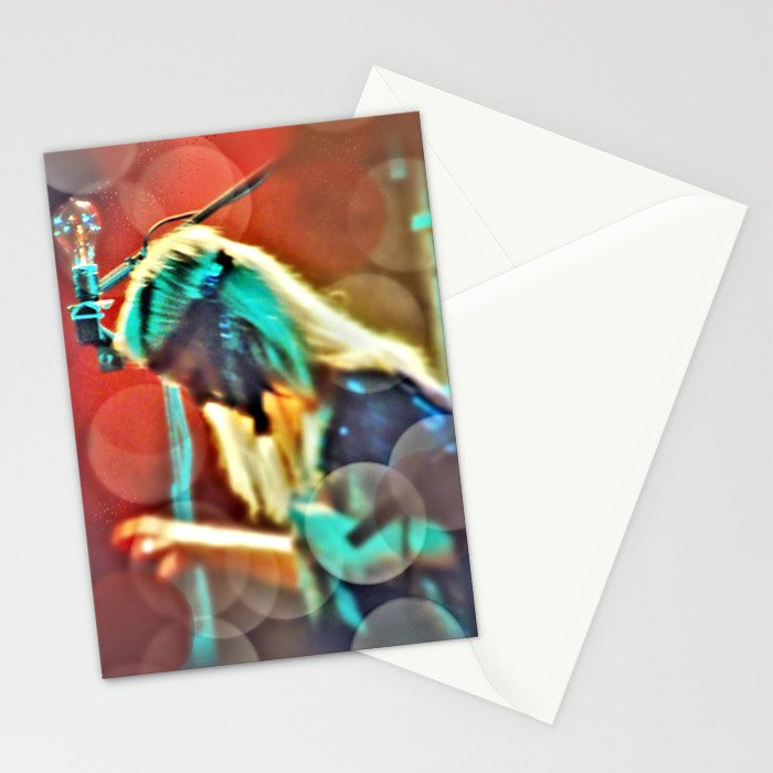 One touch of the keys Stationery Cards
