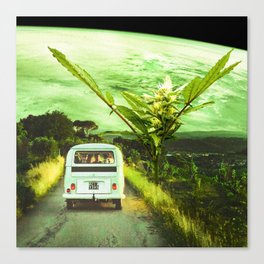 Road trip with the buds Canvas Print