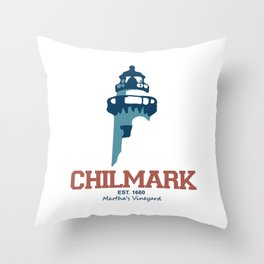 Martha's Vineyard, Chilmark Throw Pillow