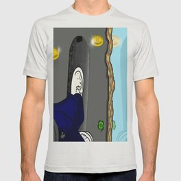 Thee skateboard pic by Mgyver T-shirt