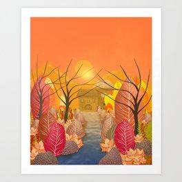 Mystery Garden VIII Art Print
