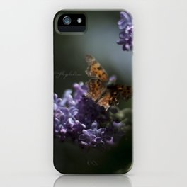 Butterfly winged iPhone Case