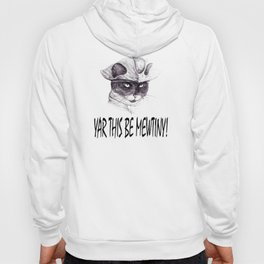 Yar This Be Mewtiny! Hoody
