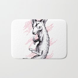 Graphic Fox Bath Mat