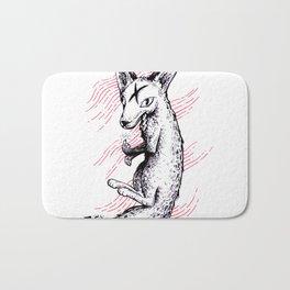 Graphic Fox Bath Mat