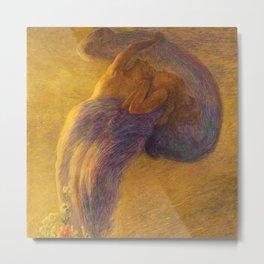 Il Sogno - Lovers, The Dream by Gaetano Previati Metal Print