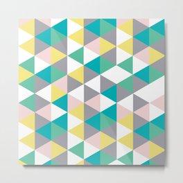 poly abstract Metal Print