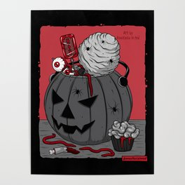 Сreepy candy Poster