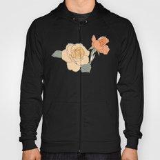 Handdrawn Roses Hoody